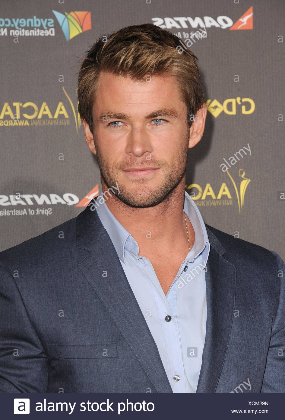 Chris Hemsworth attend the 2015 G'Day USA Gala featuring the AACTA International Awards presented by Qantas at Hollywood Palladium on January 31, 2015 in Los Angeles, California., Additional-Rights-Clearances-NA - Stock Image