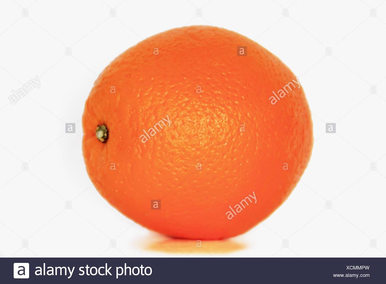 Image of isolate appetizing ripe orange - Stock Image