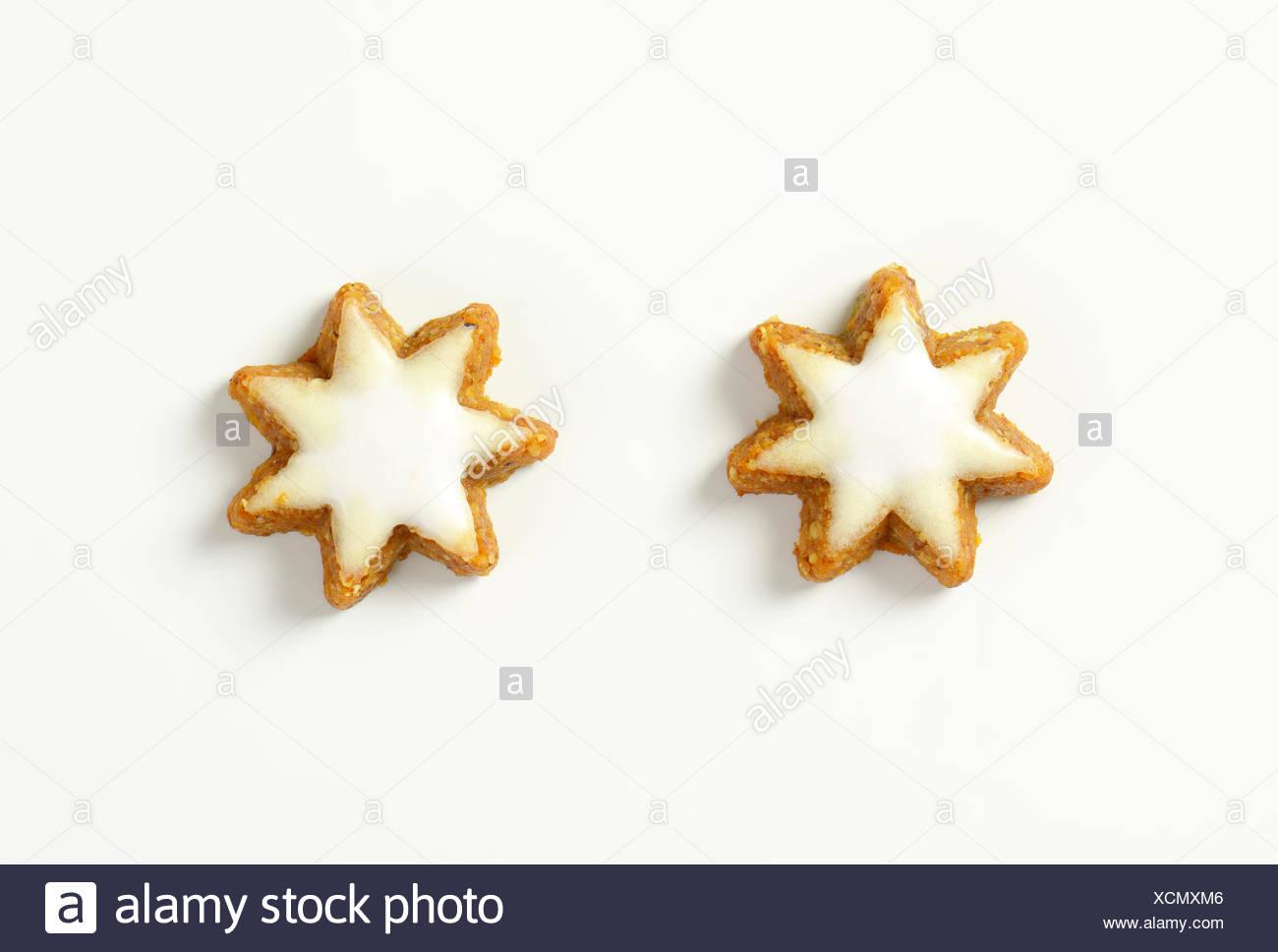 Zimtsterne Cinnamon Stars Traditional German Christmas Cookies