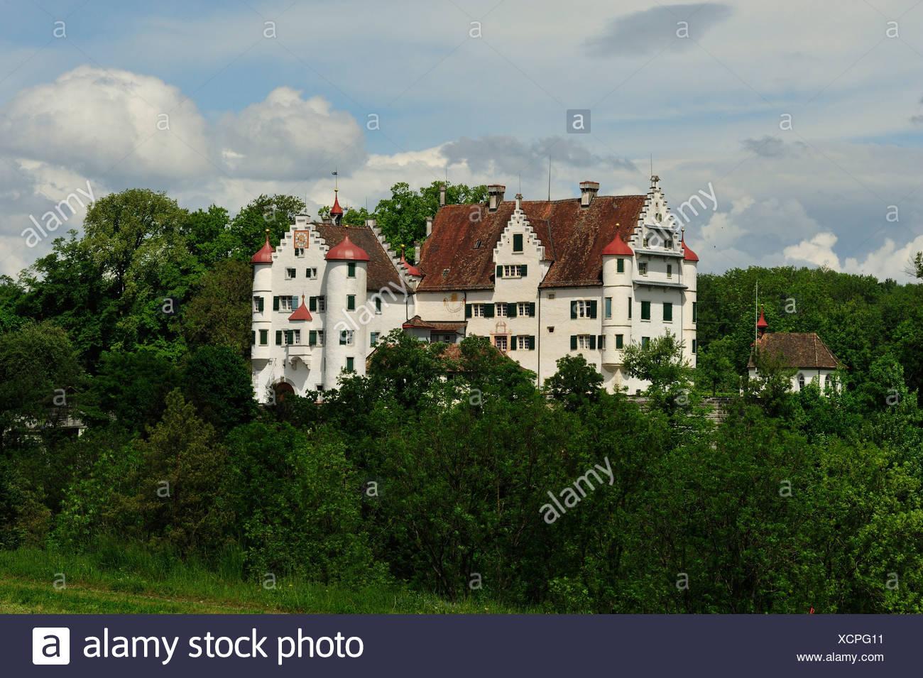 Altenklingen castle, castle, middle ages, Wigoltingen, canton, Thurgau, Switzerland - Stock Image