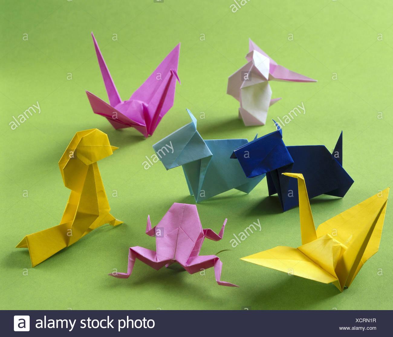 Origami Animals Stock Photos & Origami Animals Stock ... - photo#7