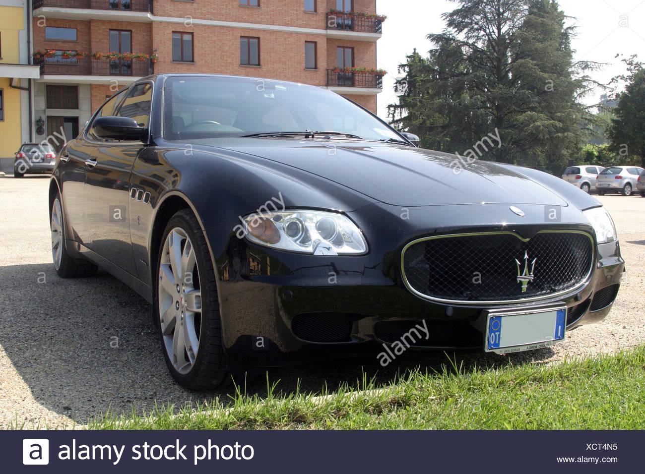 Maserati luxury sports car - Stock Image