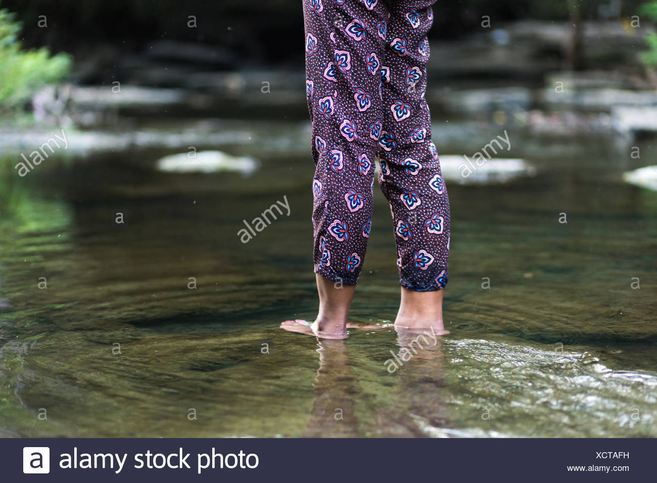 Dip your feet in whenever you can. - Stock Image