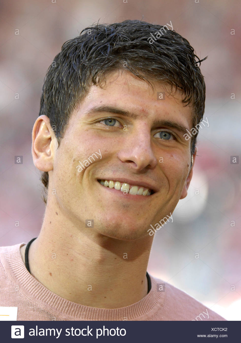 German national team player Mario GOMEZ Stock Photo