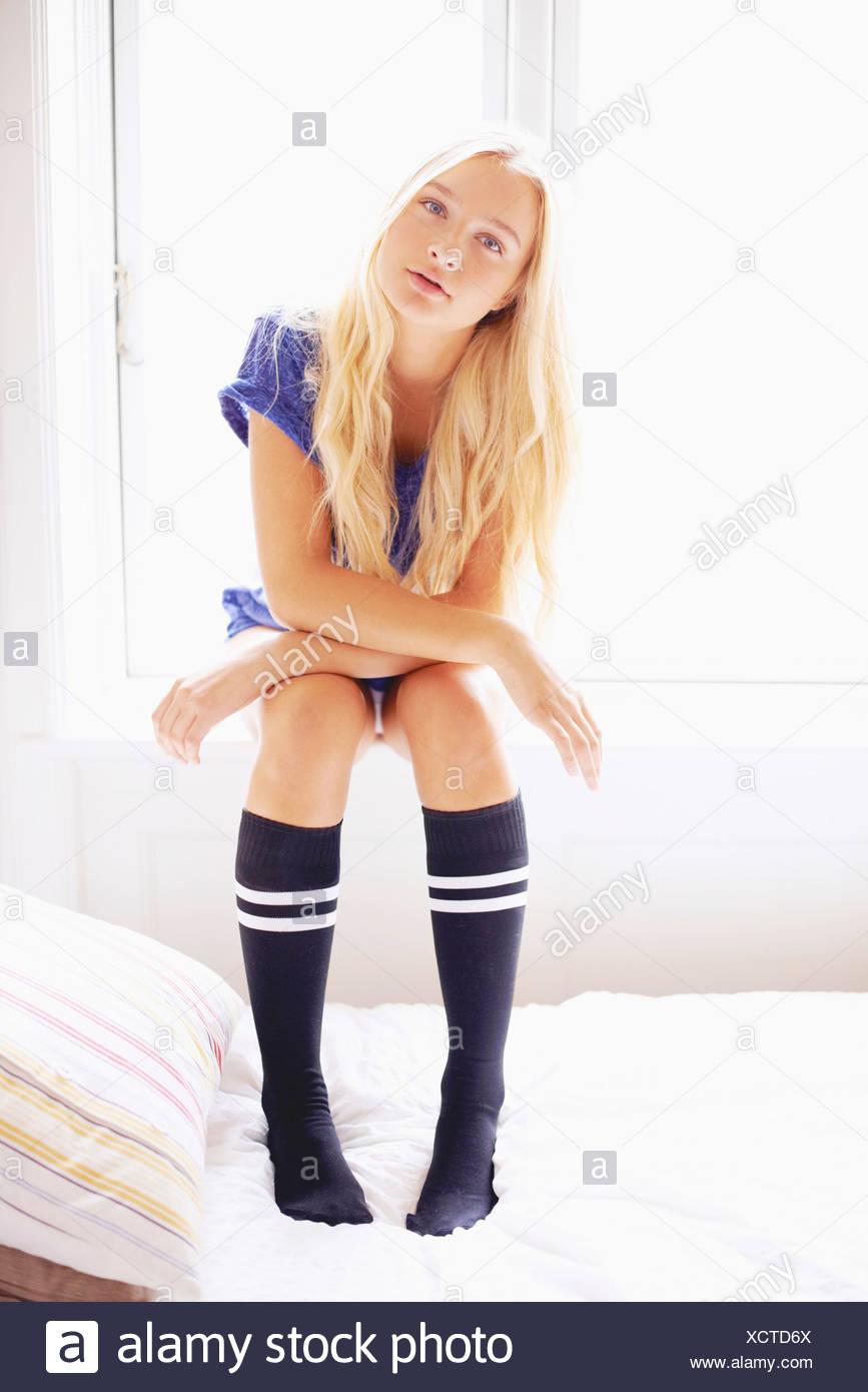 Teen Knee High Stockings