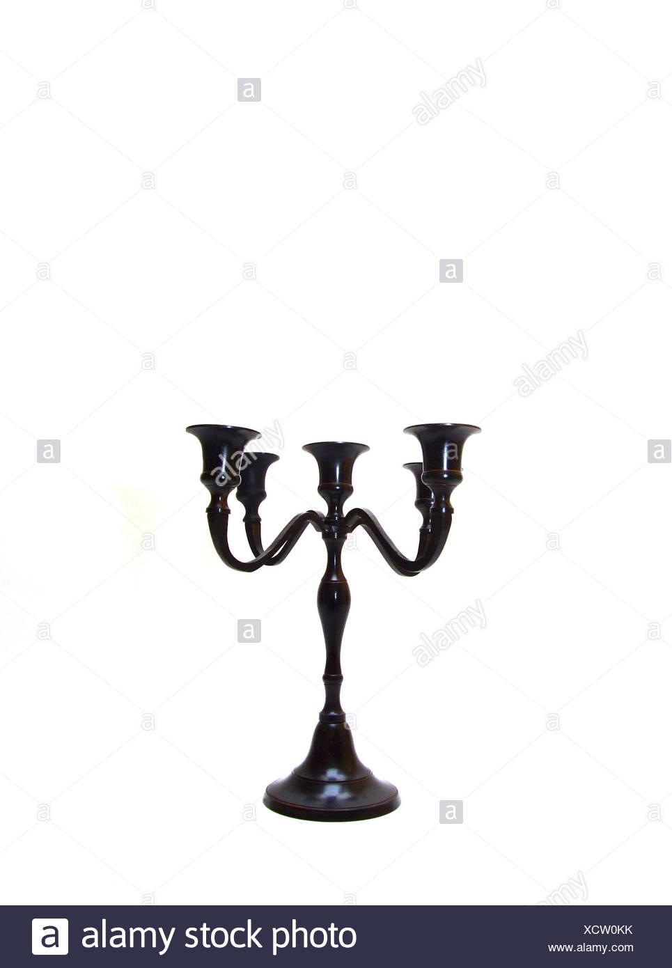 Kerzenständer / candle holder - Stock Image