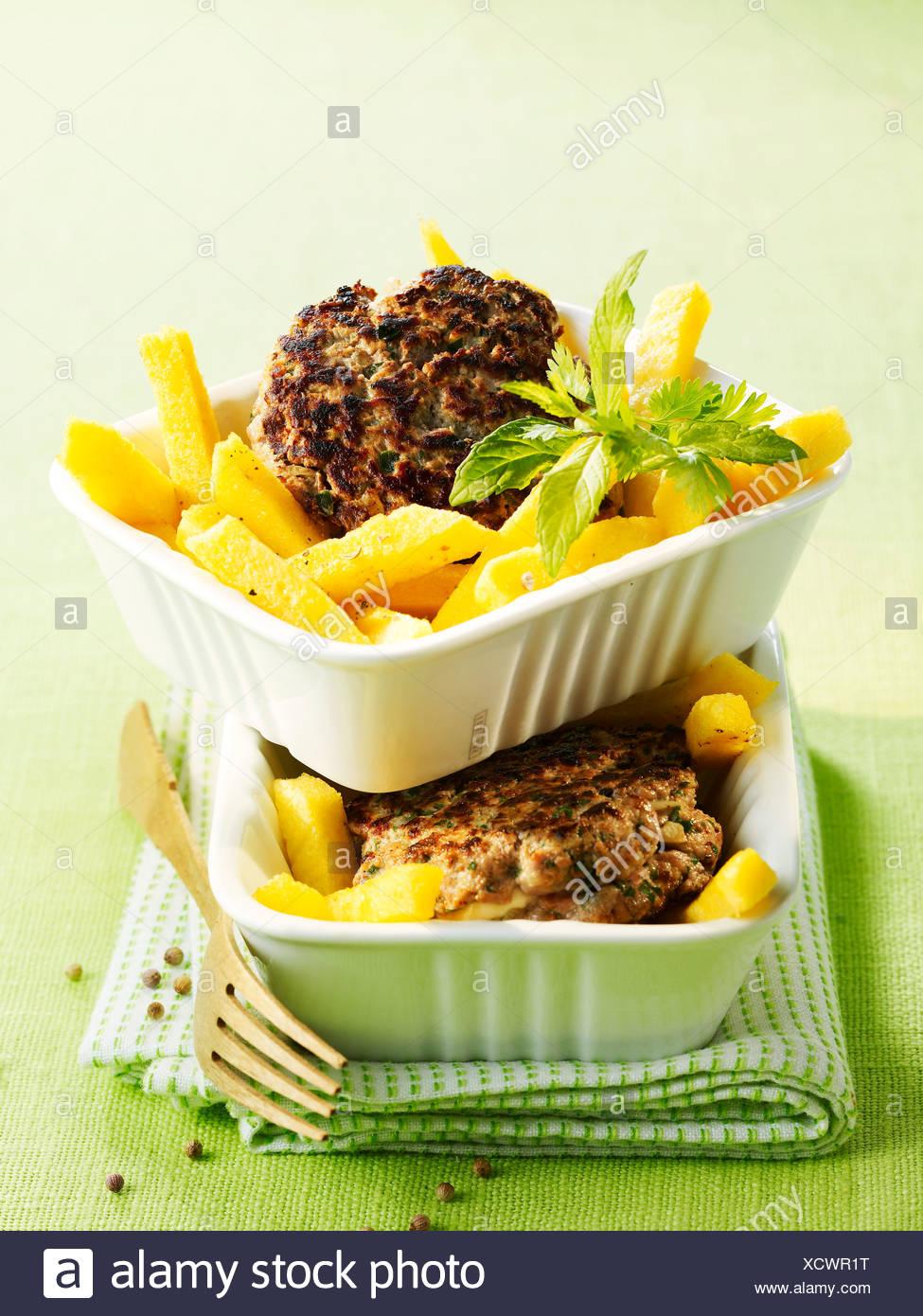 LambÊburgers - Stock Image