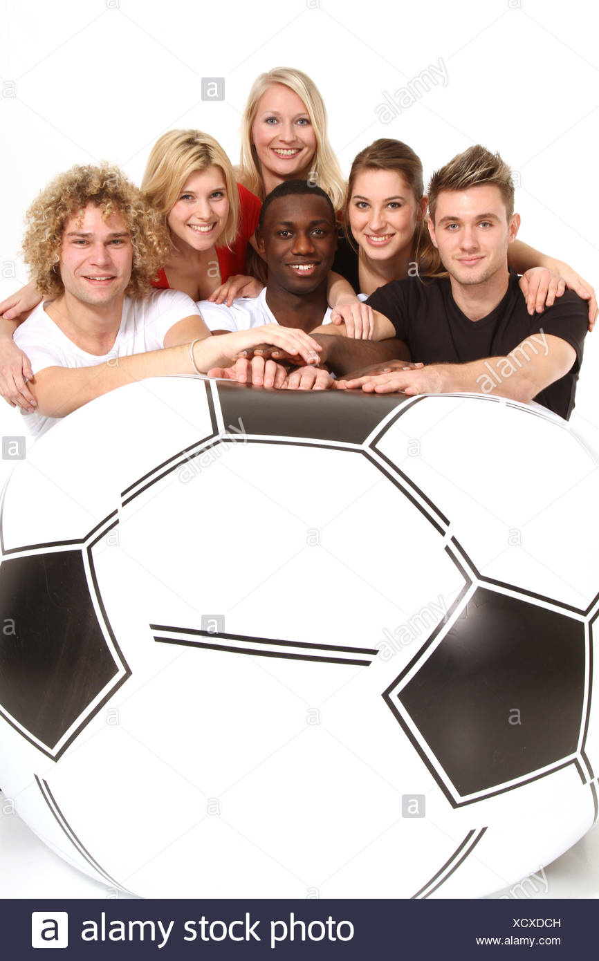 isolated optional ball - Stock Image