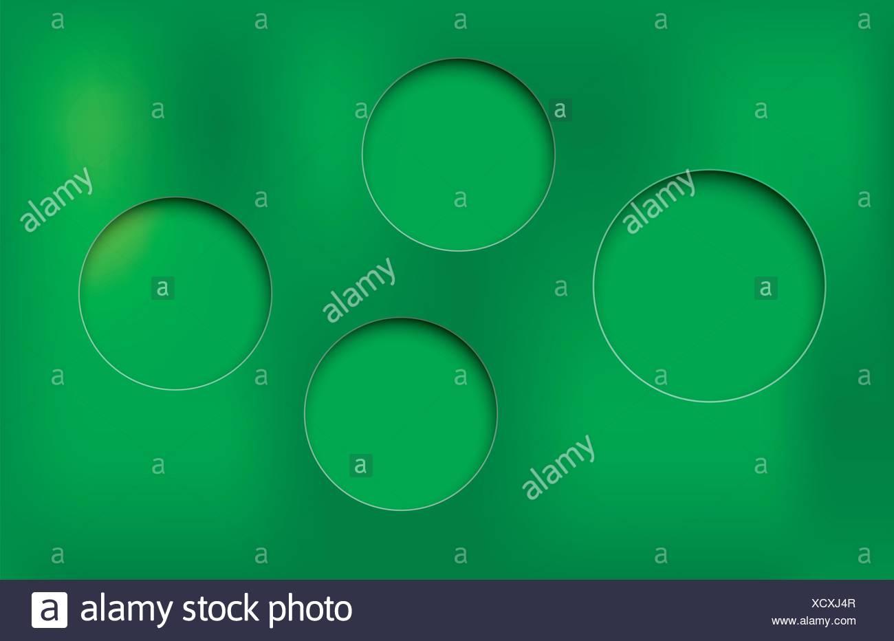 circle shaddow - Stock Image
