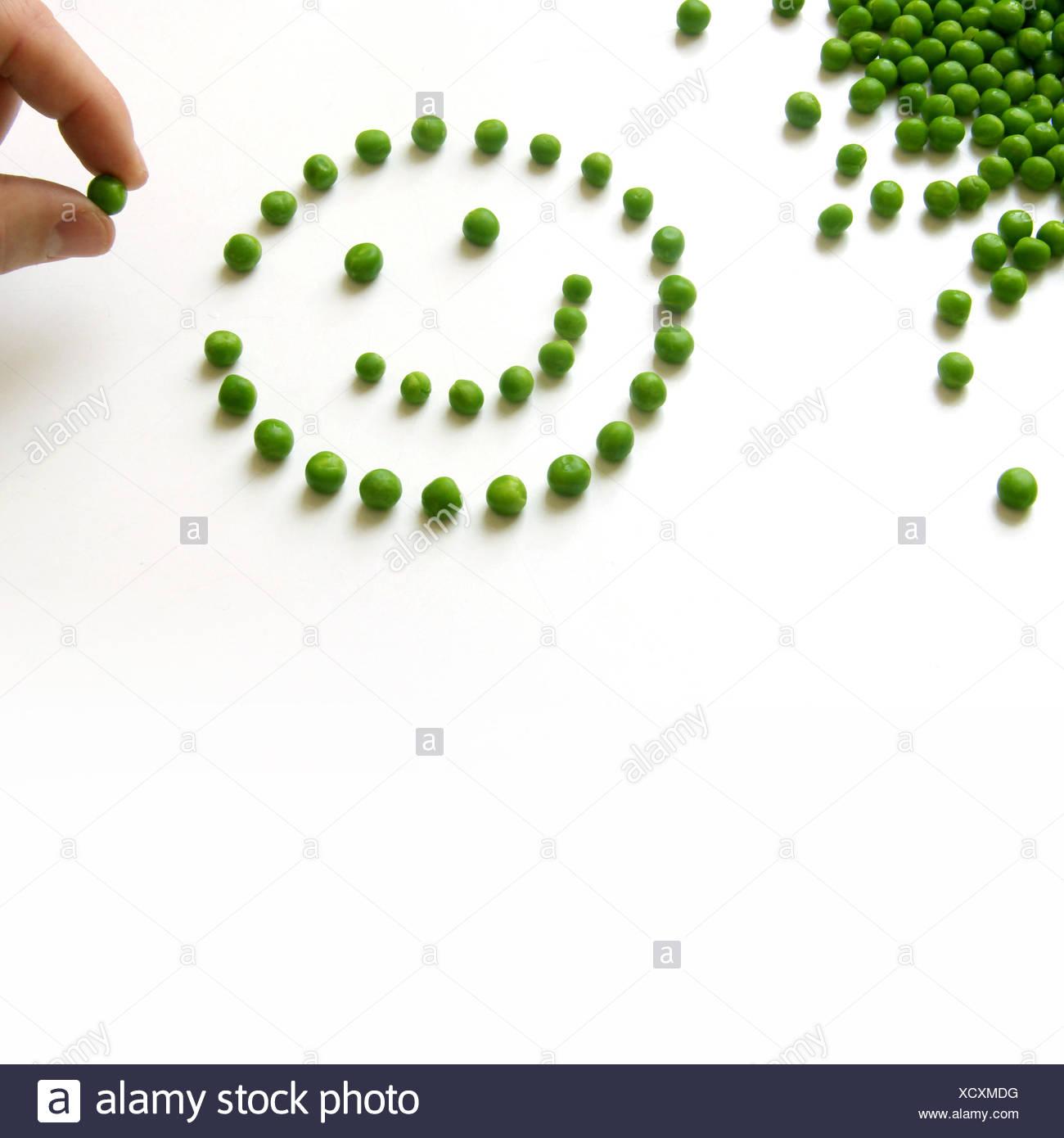 Eat & Smile Stock Photo