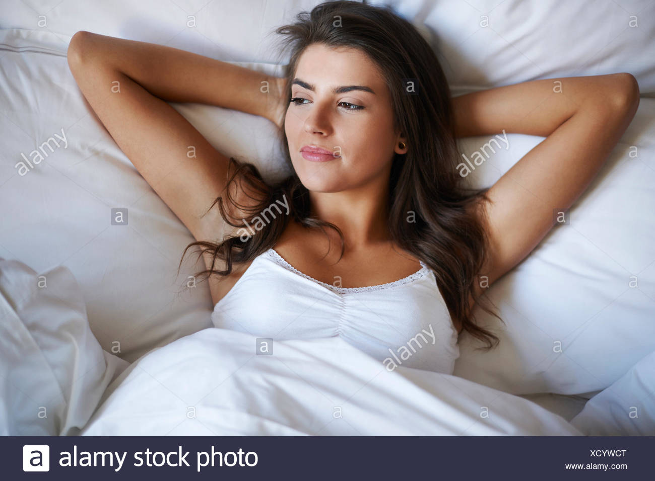 Nothing better than starting the day in a relaxed way. Debica, Poland - Stock Image