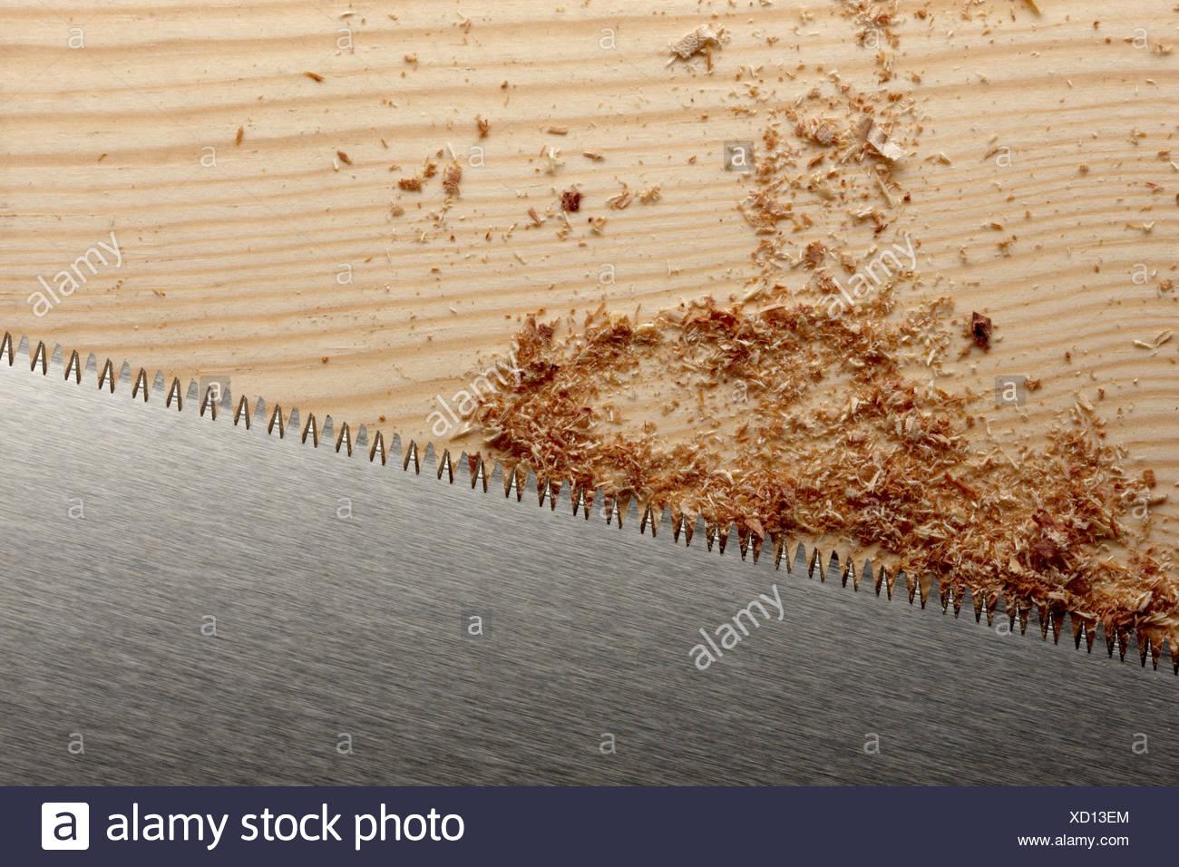 Saw blade - Stock Image