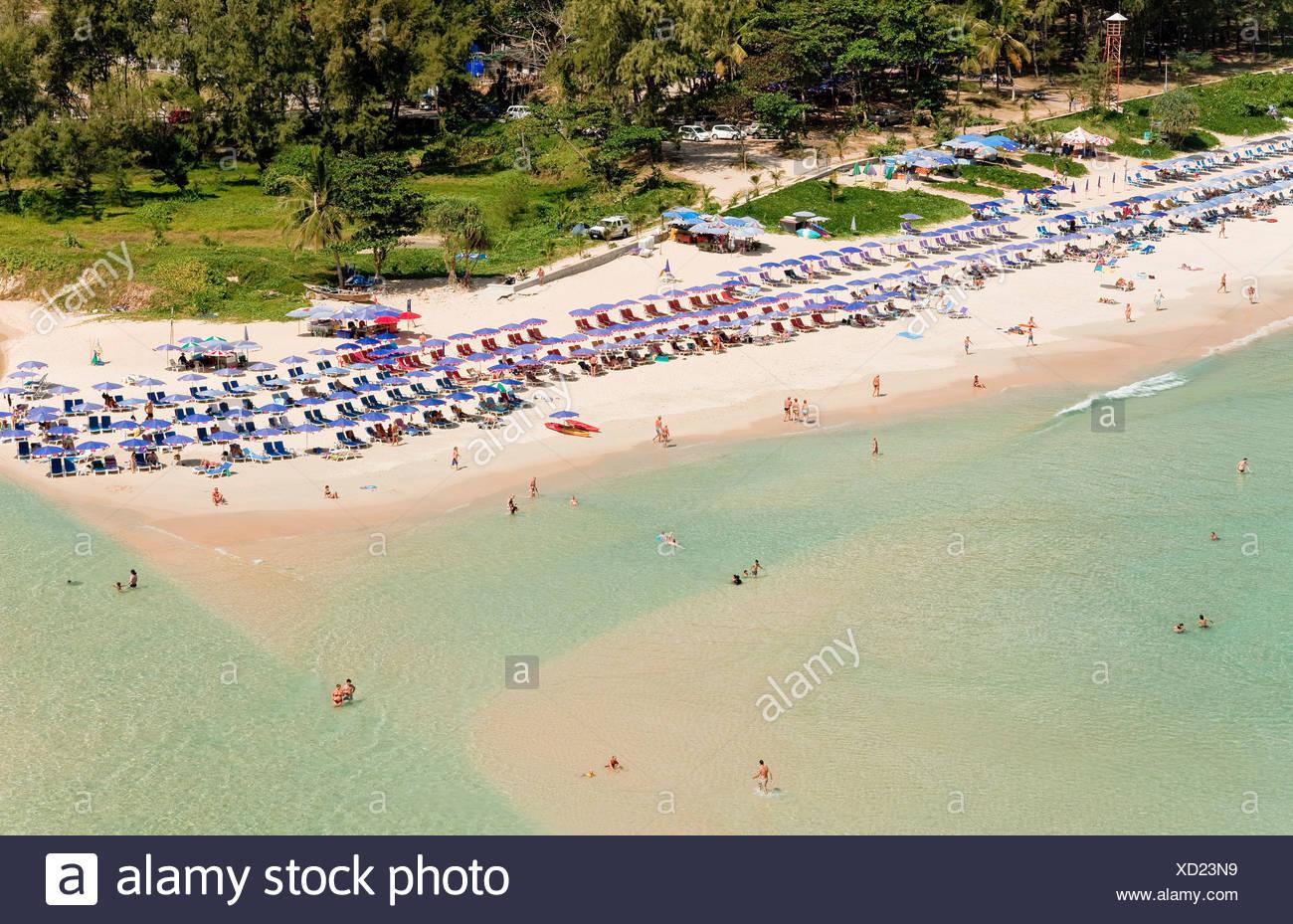 Nai Harn Beach Phuket Island Southern Thailand Southeast Asia Stock Photo