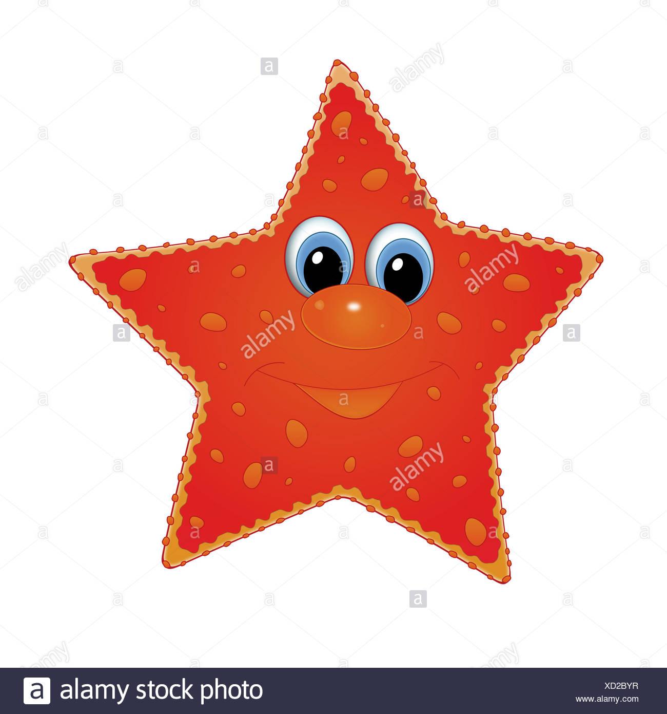 Starfish Drawing Stock Photos & Starfish Drawing Stock Images - Page ...