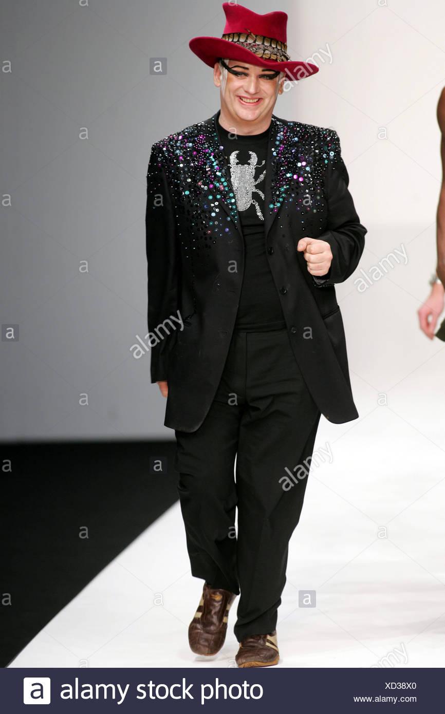 B Rude Boy George Fashion Show