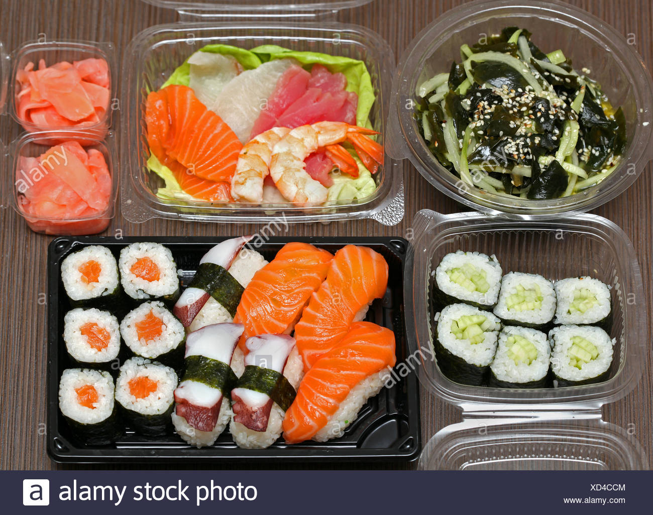 Japanese food - Stock Image