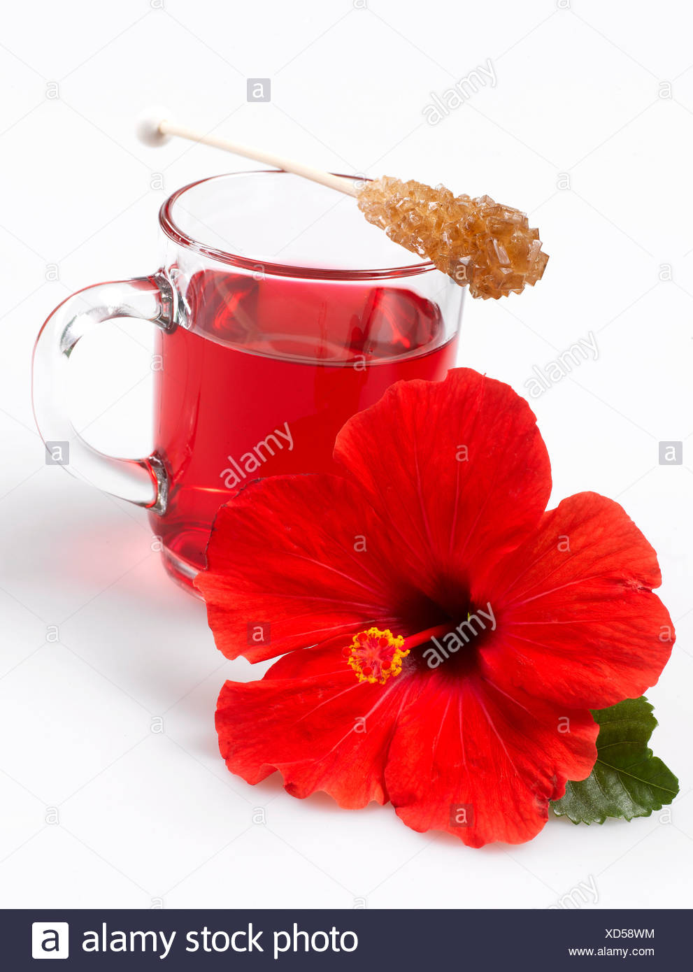 Sugar flowers stock photos sugar flowers stock images page 6 alamy hibiscus flower tea and hibiscus flower stock image izmirmasajfo