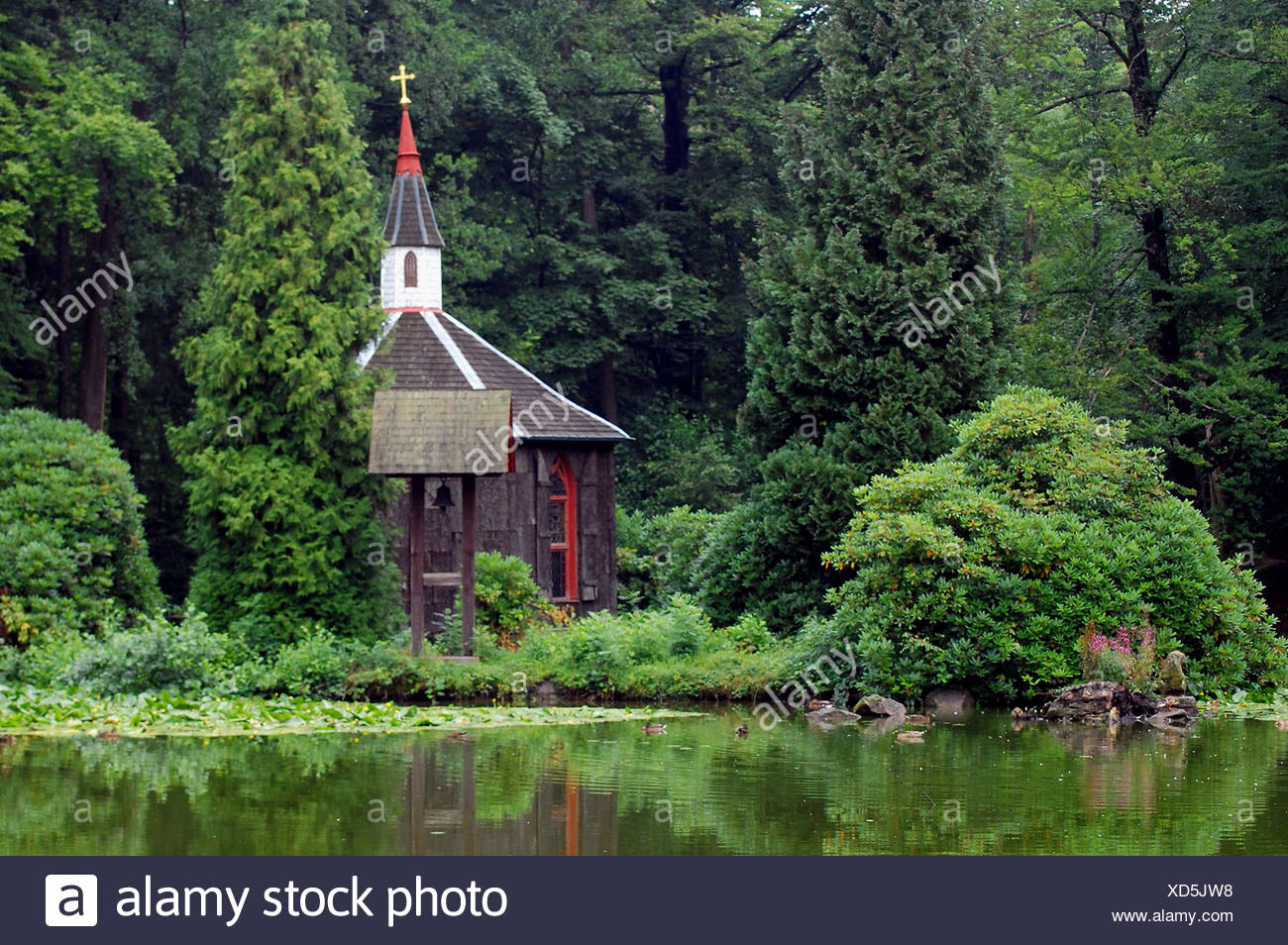 tower tree waters - Stock Image