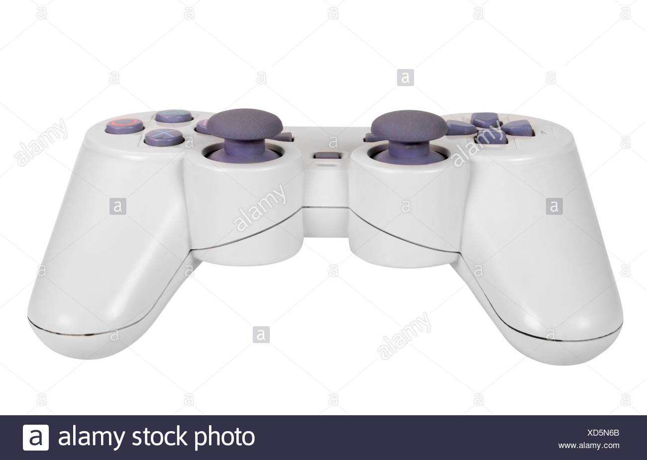 Close-up of a video game controller - Stock Image