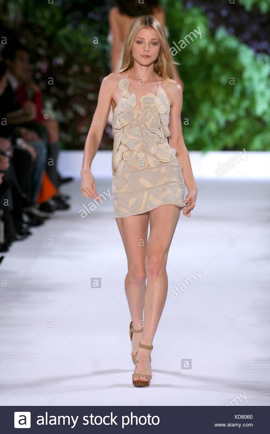 0425d76bae7cf Stella McCartney Paris Ready to Wear Spring Summer Halterneck floral cut  out short dress, with