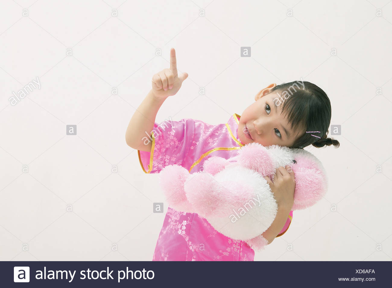 Kids Style Stock Photo