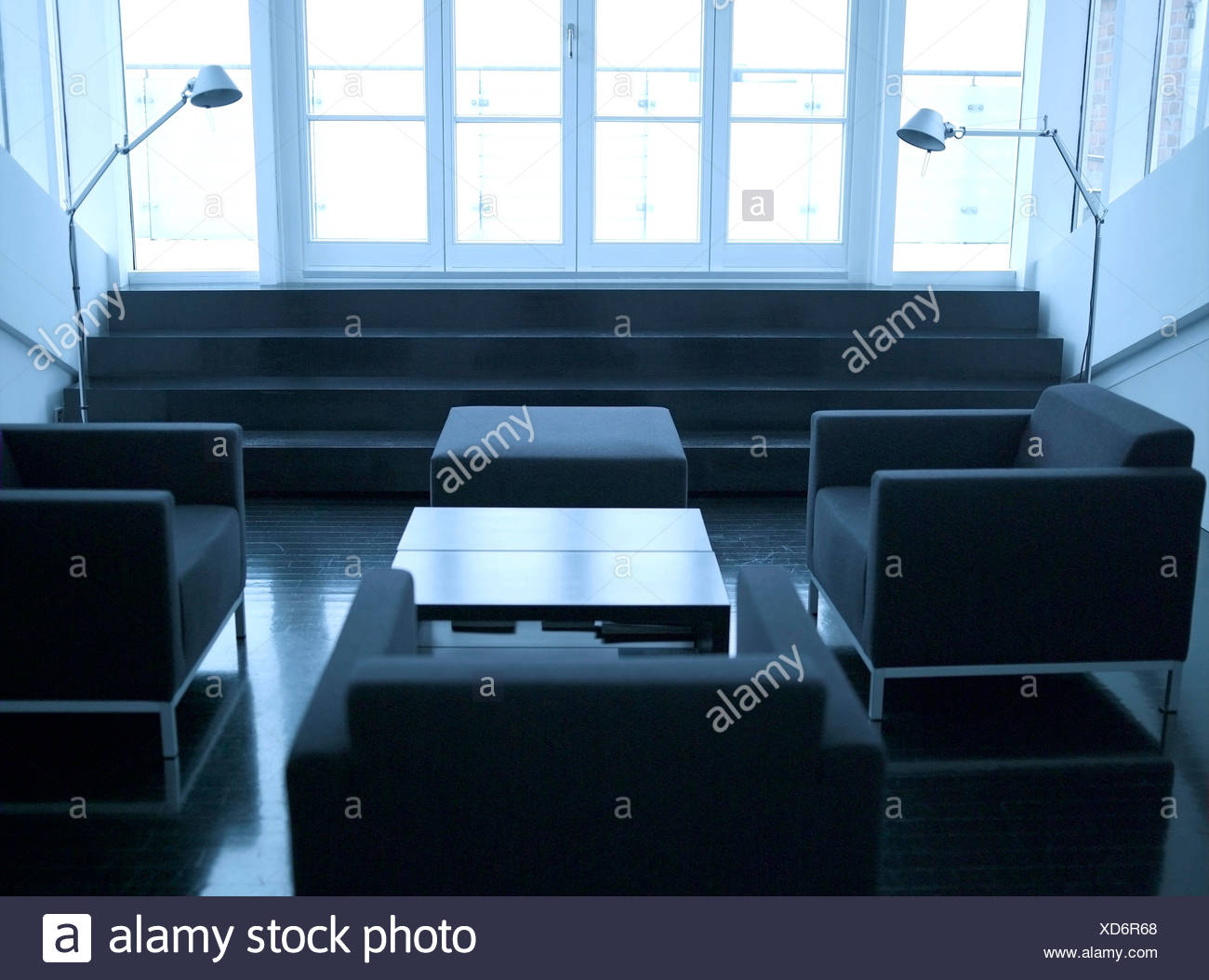 Interior of living room - Stock Image