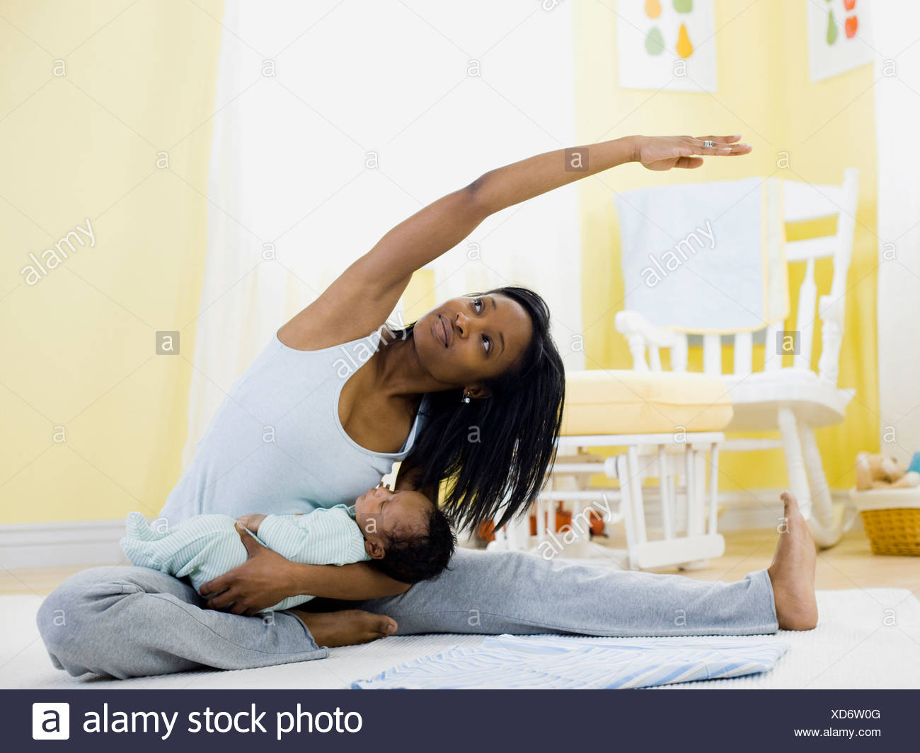 mother and baby - Stock Image