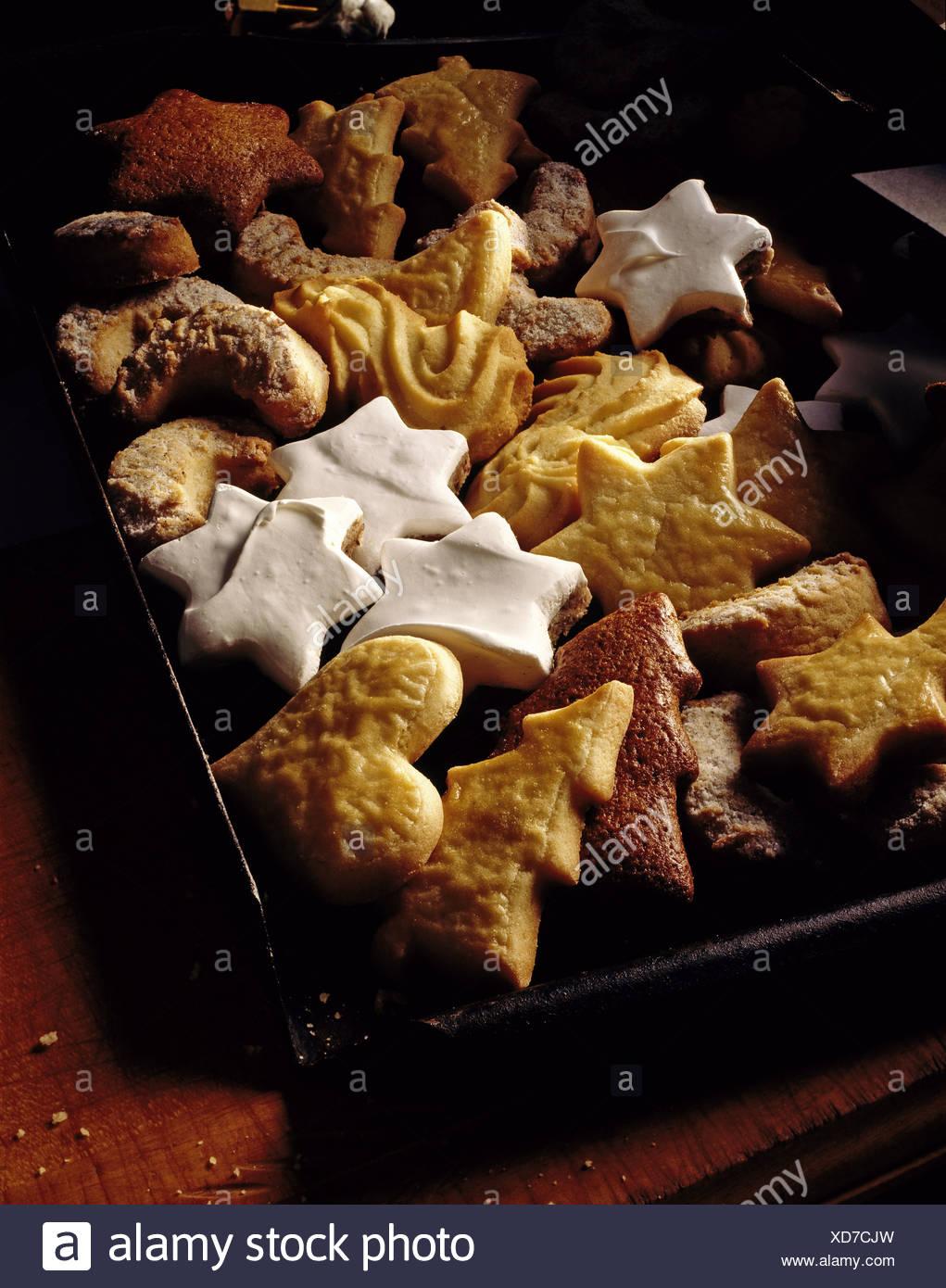 Tableau Christmas Pastry German Cinnamon Stars Butter Sandies