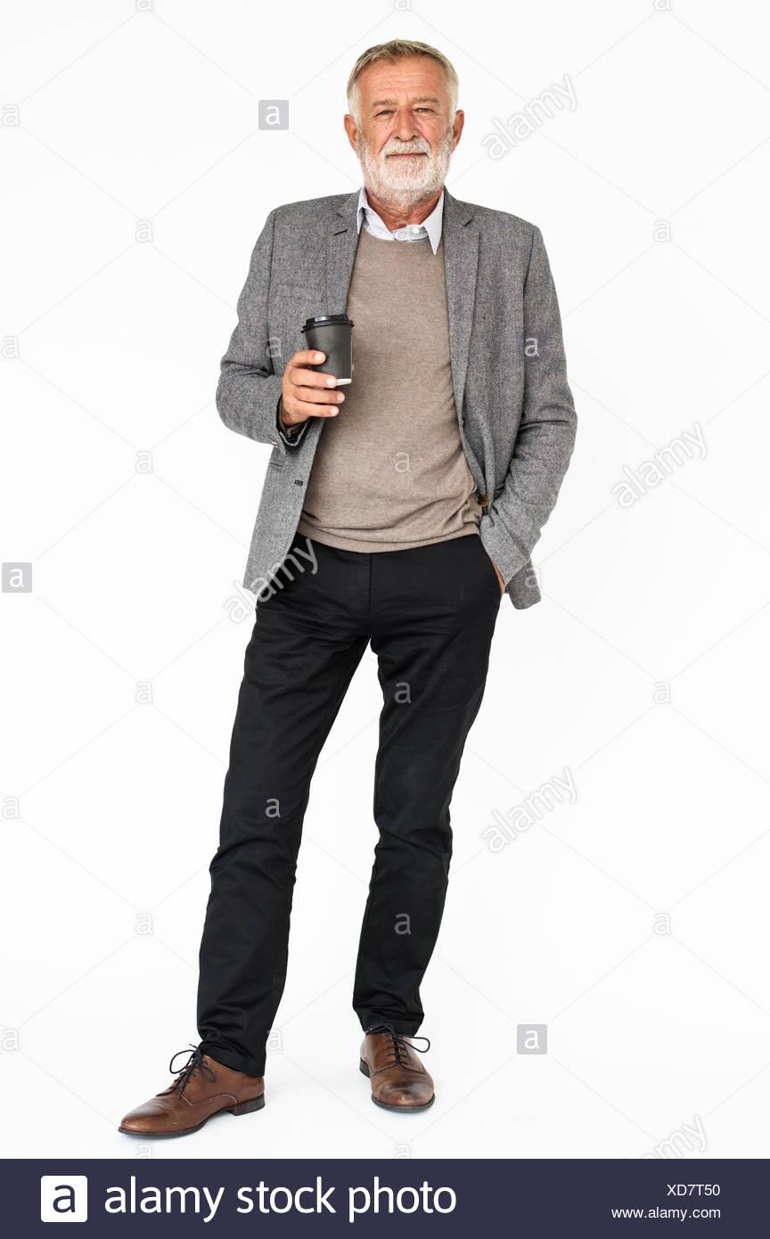 Studio Shoot People Portrait Concept - Stock Image