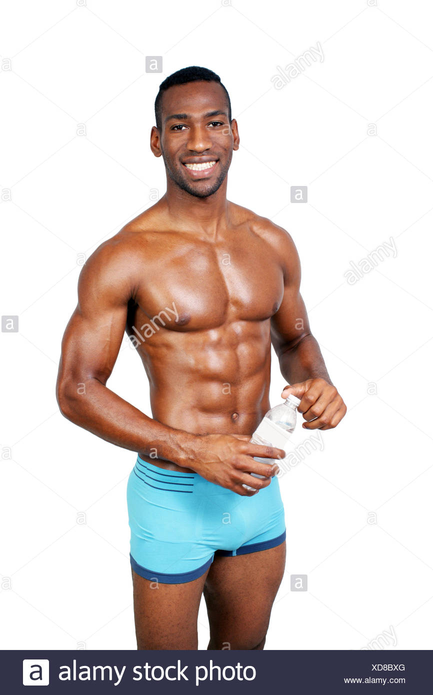 a man with a 6 pack