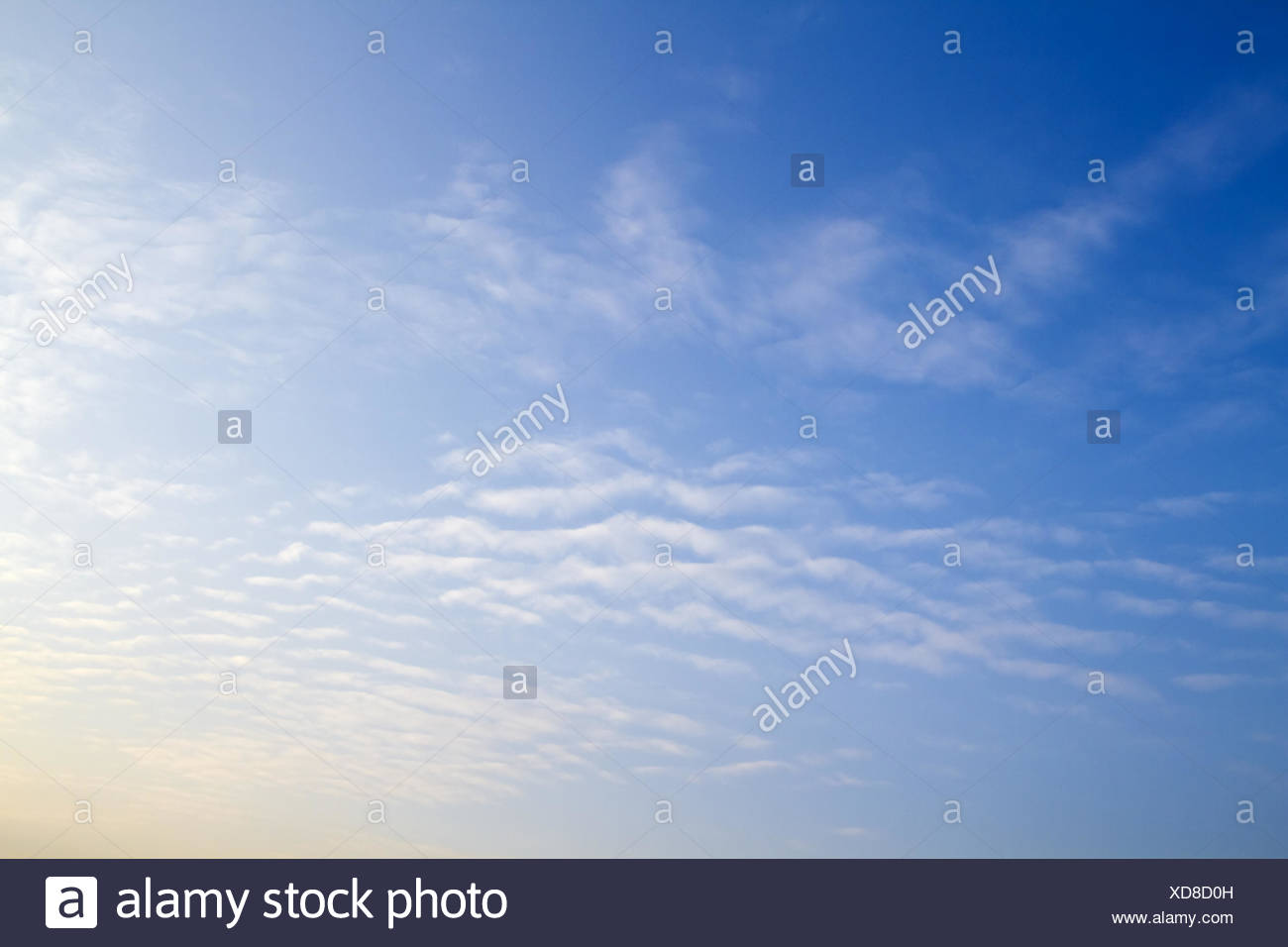 little clouds Stock Photo