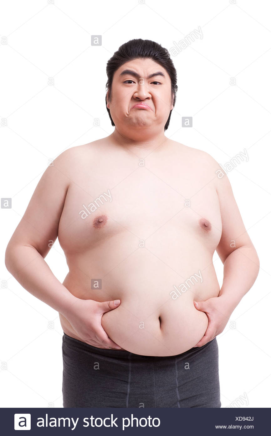 Obese Men High Resolution Stock Photography And Images Alamy
