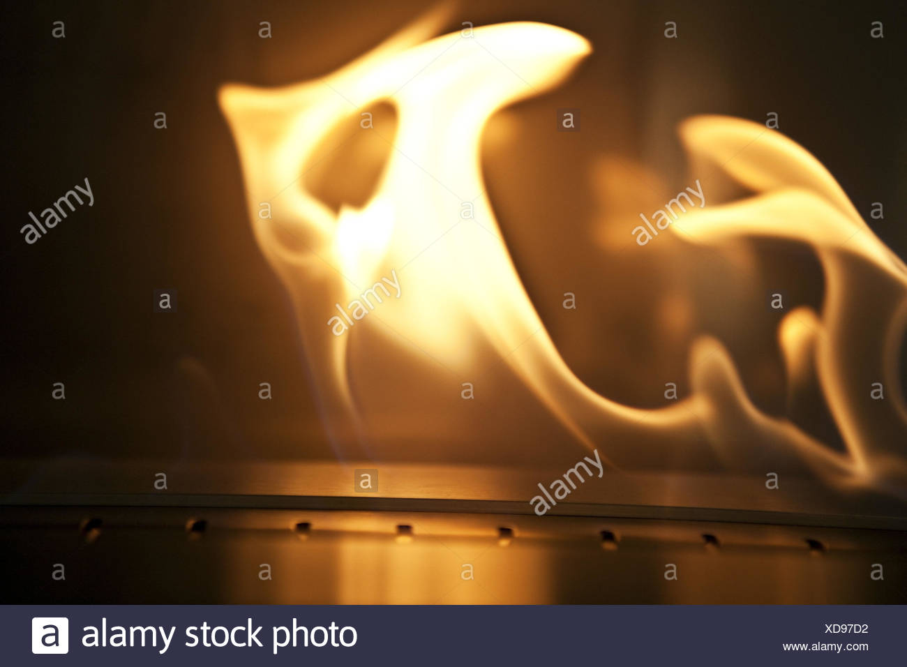 Fire, flames, - Stock Image