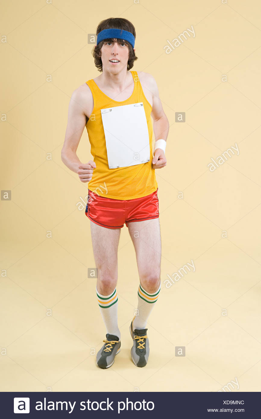 A man running - Stock Image