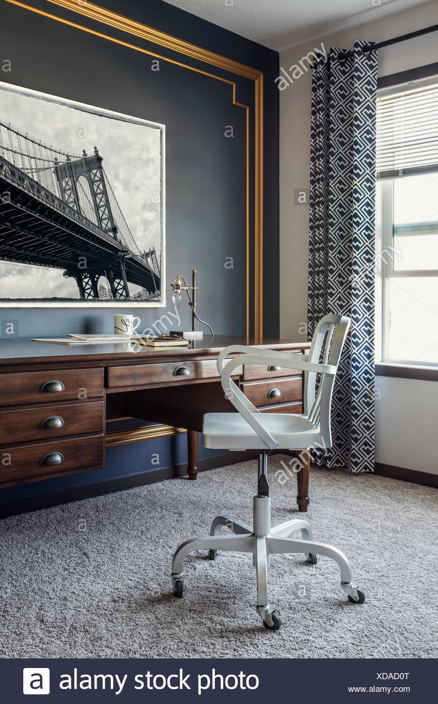 Home office - Stock Image