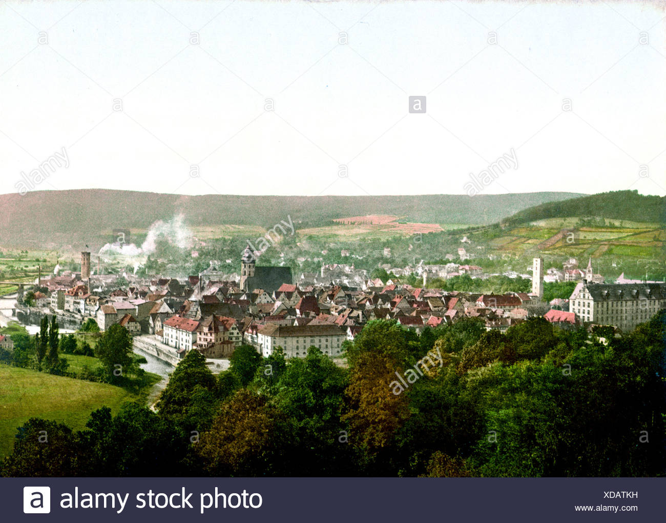 Münden Hannover - Stock Image