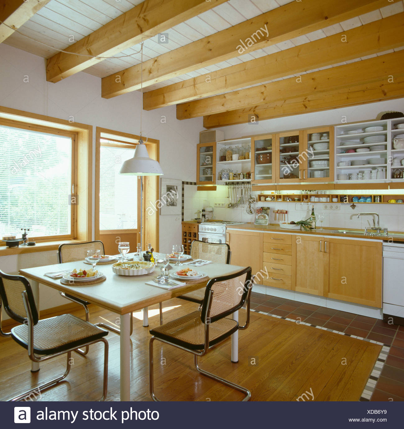 Pleasant Marcel Breuer Dining Chairs In Modern German Kitchen Pdpeps Interior Chair Design Pdpepsorg