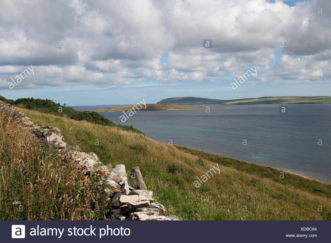 island of rousay, orkney islands, scotland, united kingdom - Stock Image