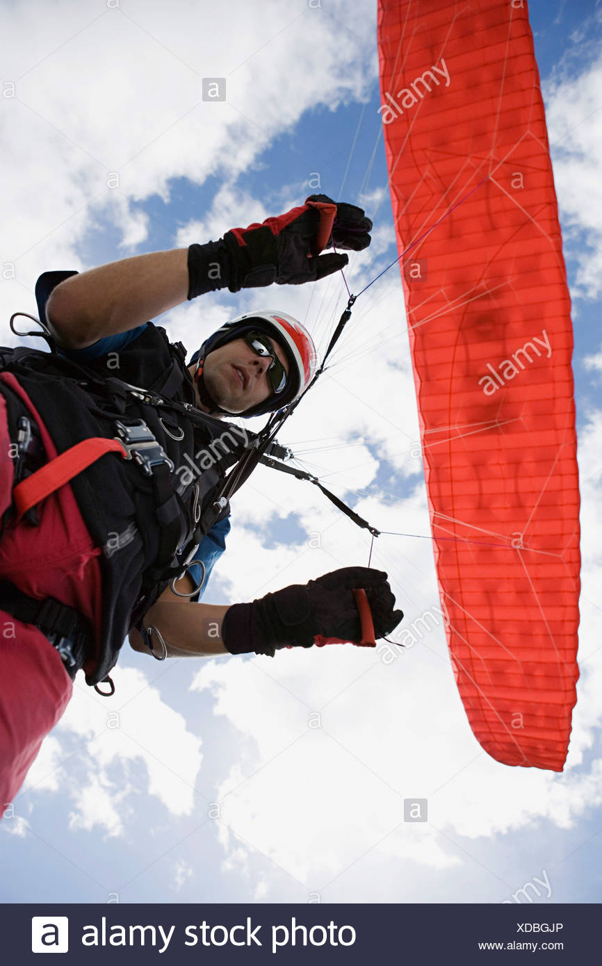 Red Parachute Stock Photos & Red Parachute Stock Images - Alamy