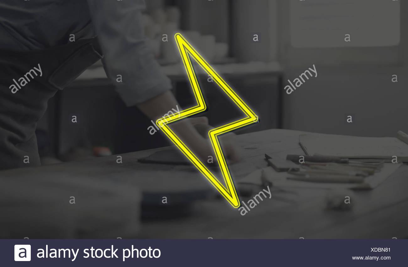 Handcraft Design Creation Business Concept - Stock Image