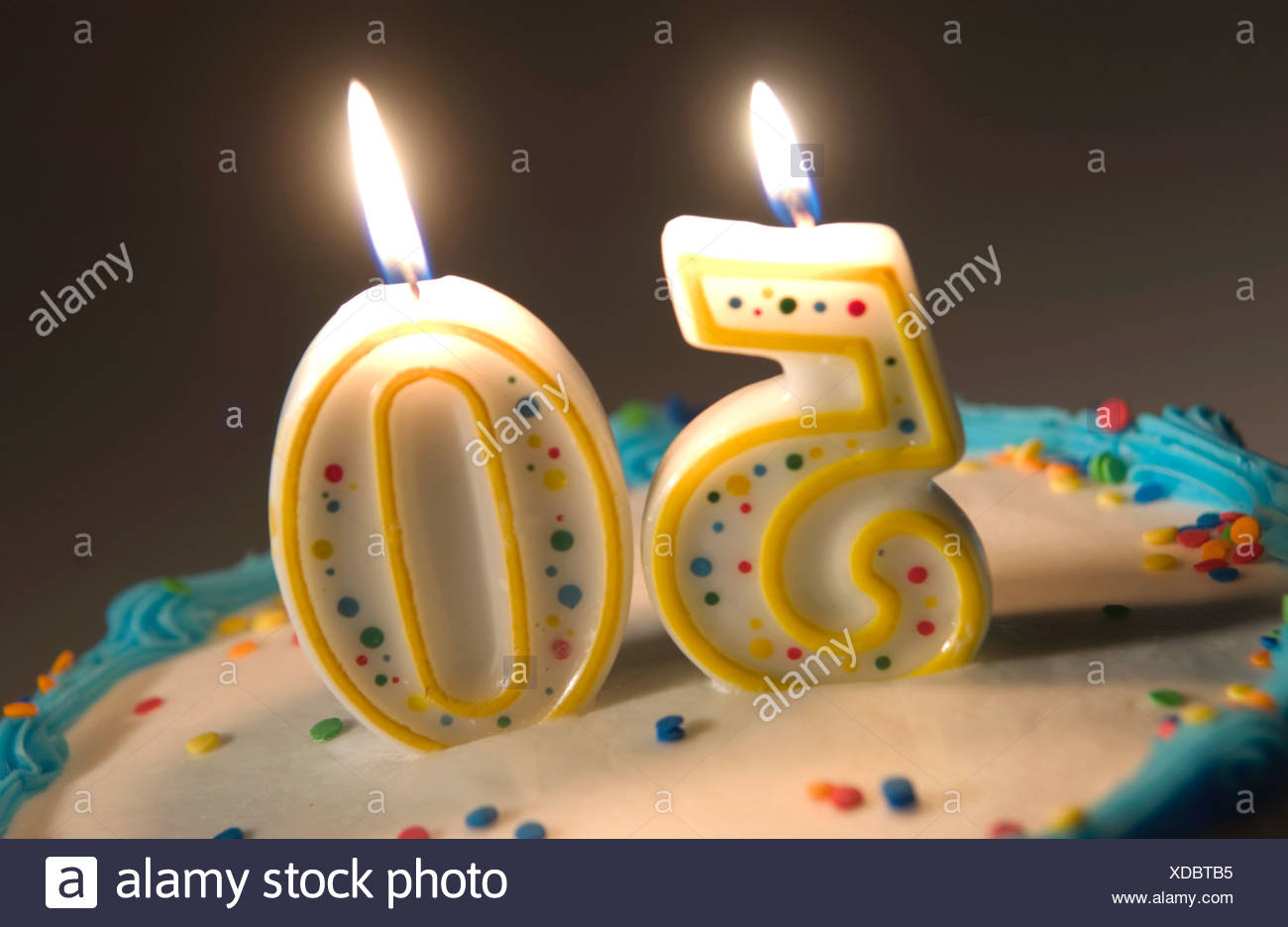 50th Birthday Cake Stock Photos Images