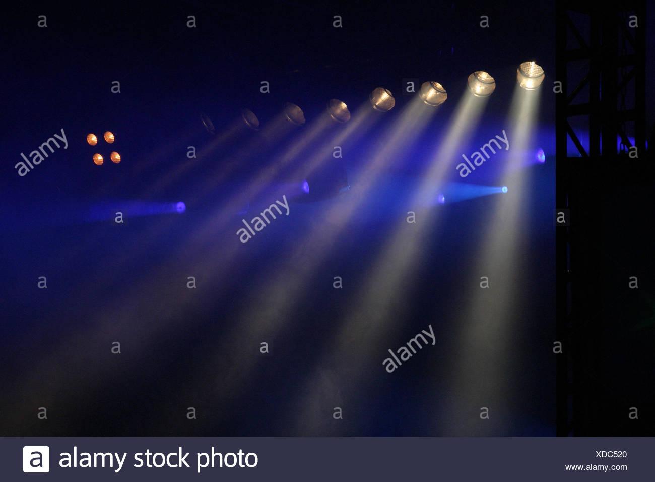 bluelight Stock Photo