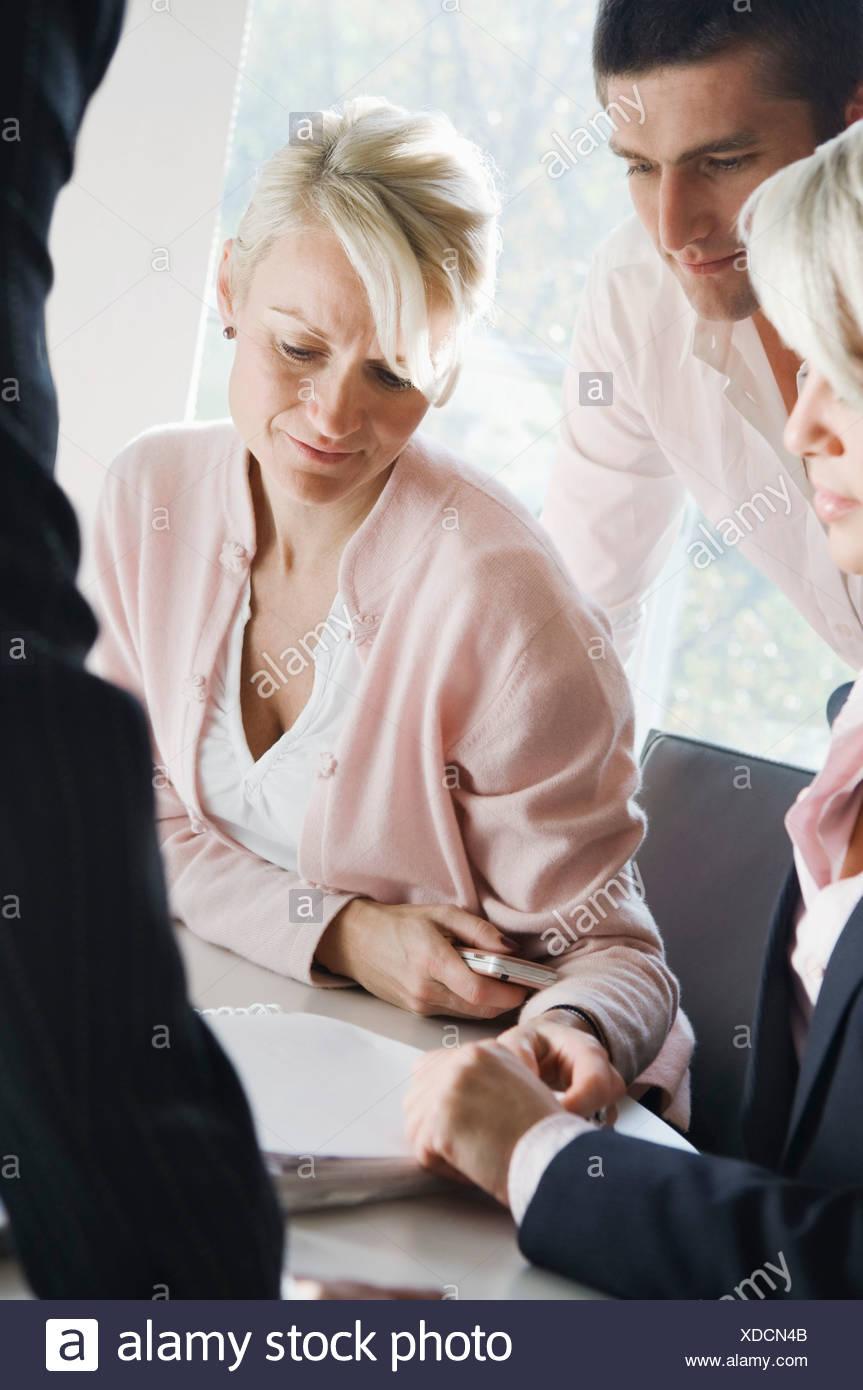 Meeting - Stock Image