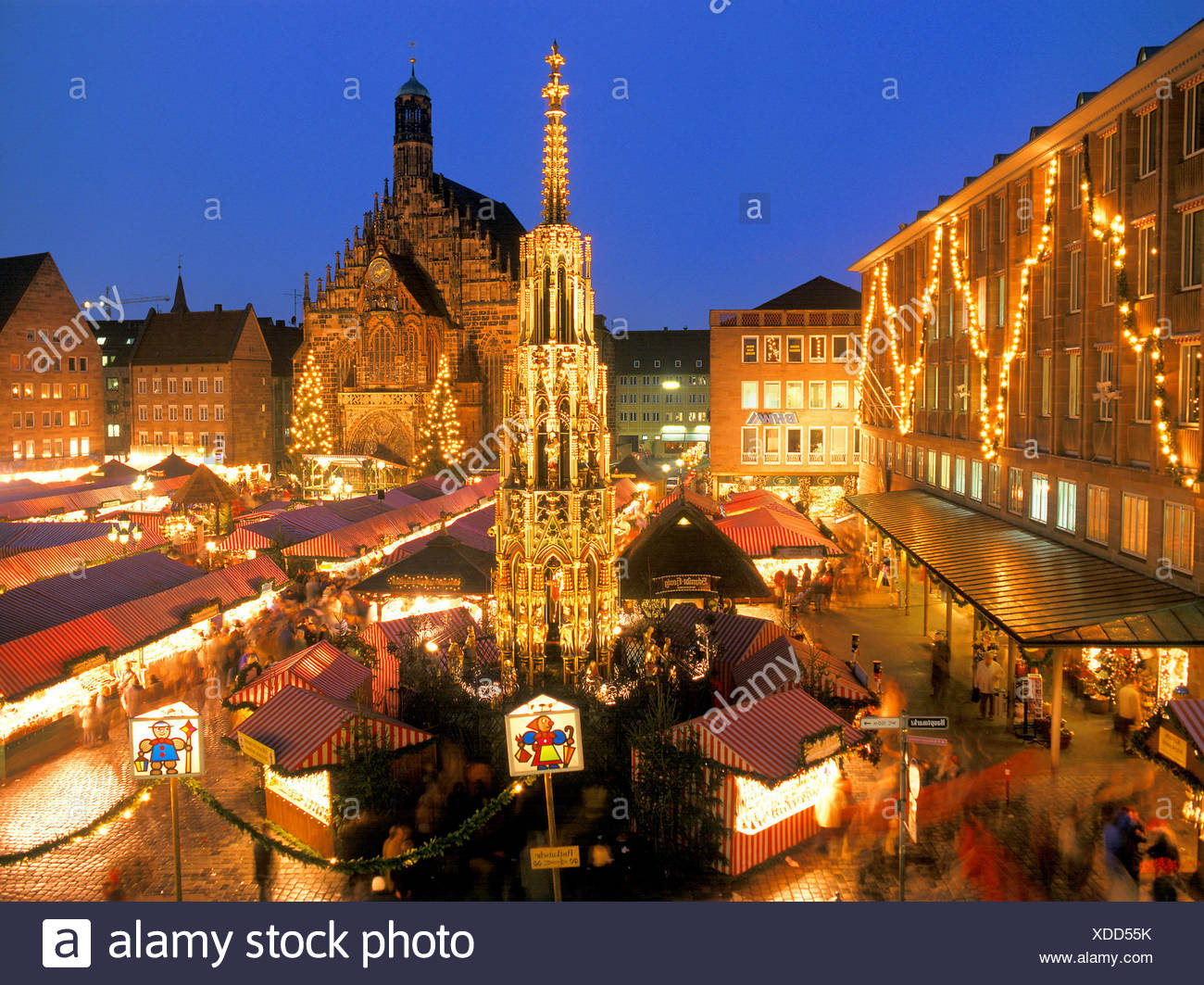 Nuremberg Christmas Market.Nuremberg Christmas Market Stock Photo 283645871 Alamy