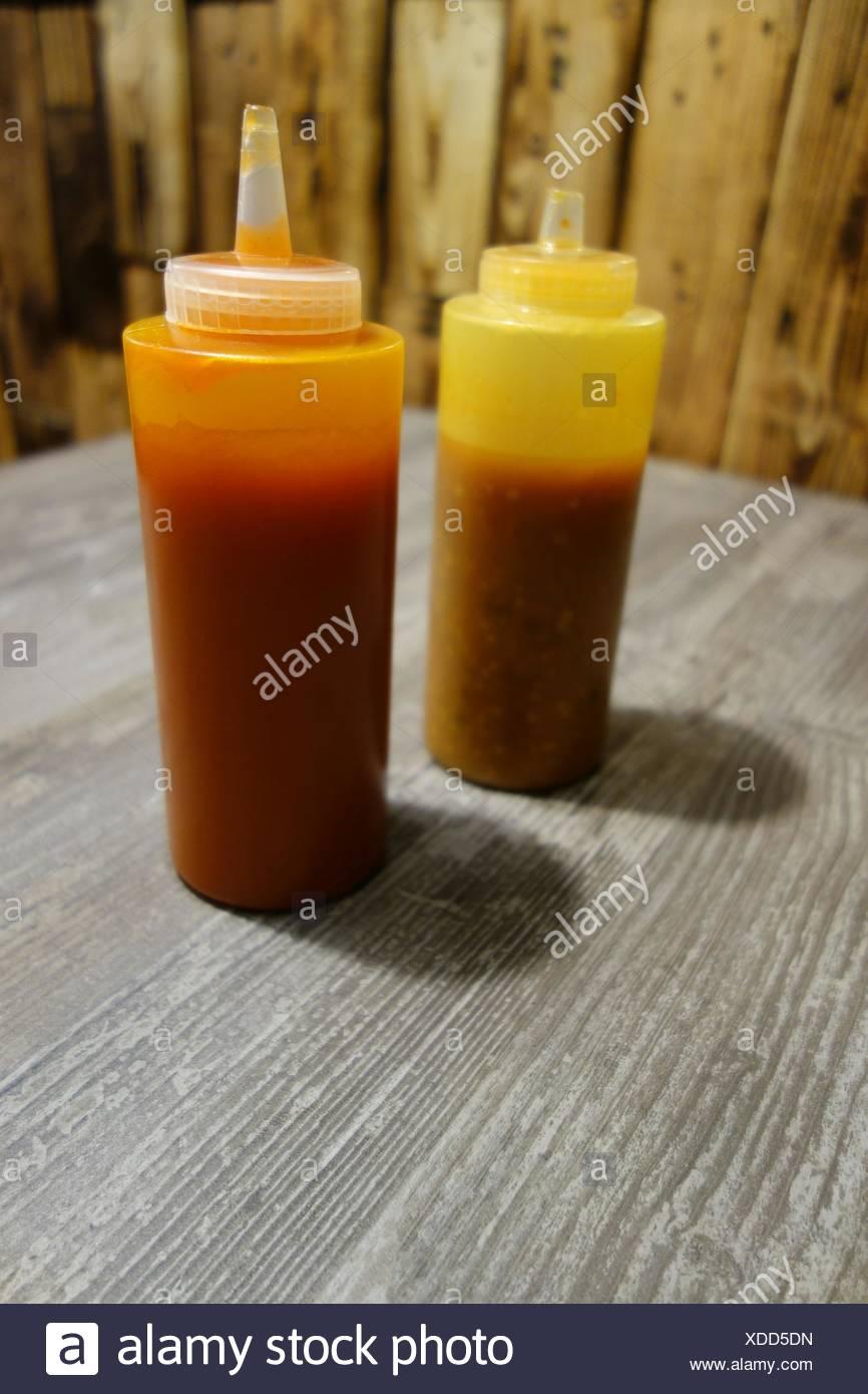 Sauce Bottles Stock Photos Amp Sauce Bottles Stock Images