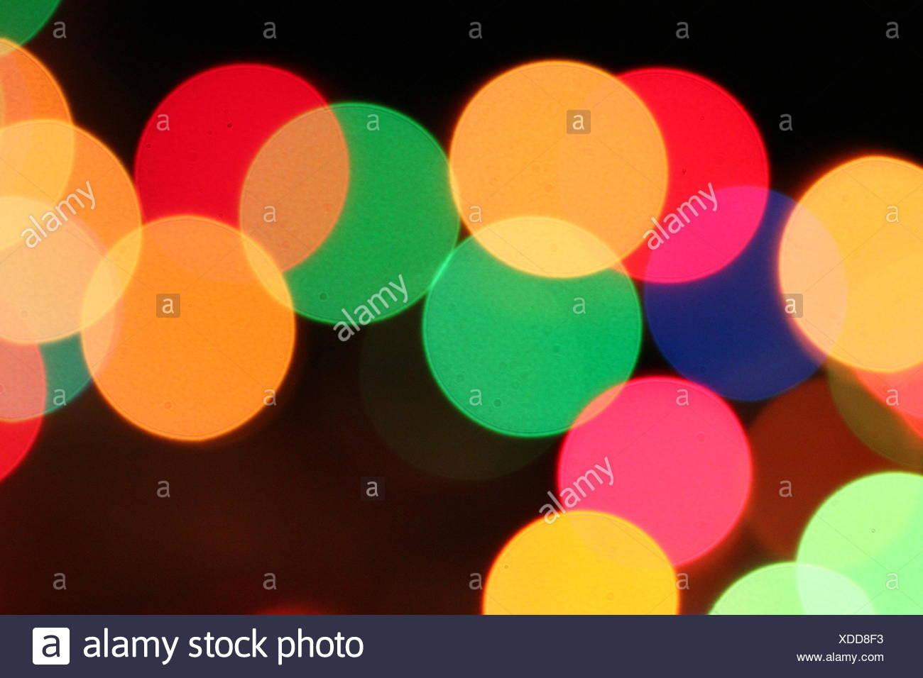 colorful light spots Stock Photo