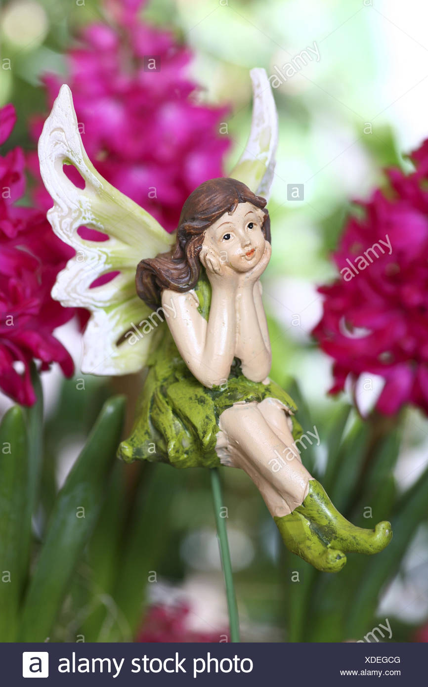 Elf, elfin figure, decoration, figure, fairy tale, legend, Stock Photo
