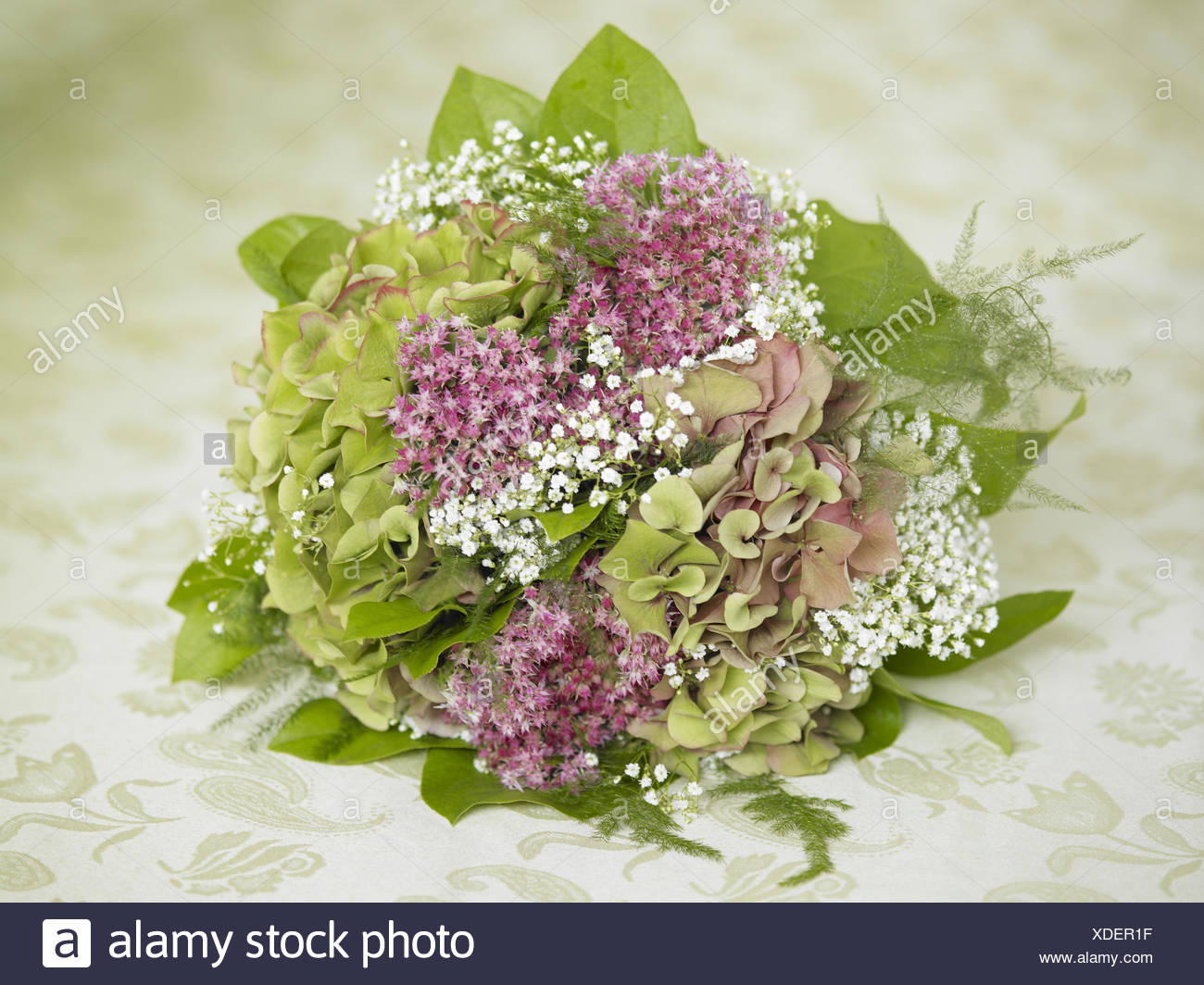 Bridal Bouquet Hydrangeas Stock Photo 283681819 Alamy