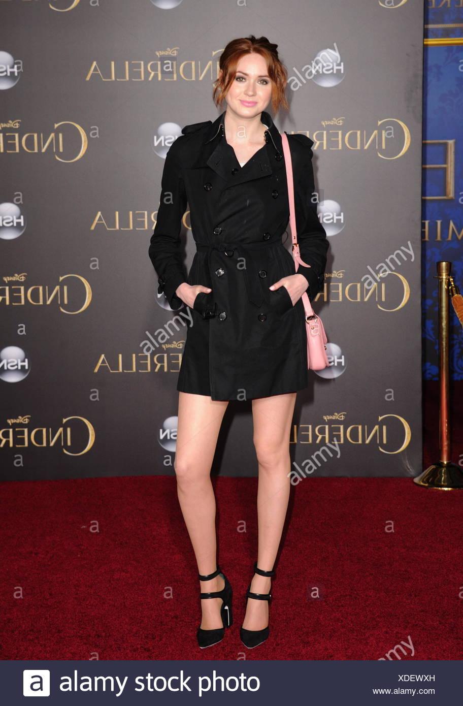 6749b9d1d90a Actress Karen Gillan arrives at the World Premiere of Disney