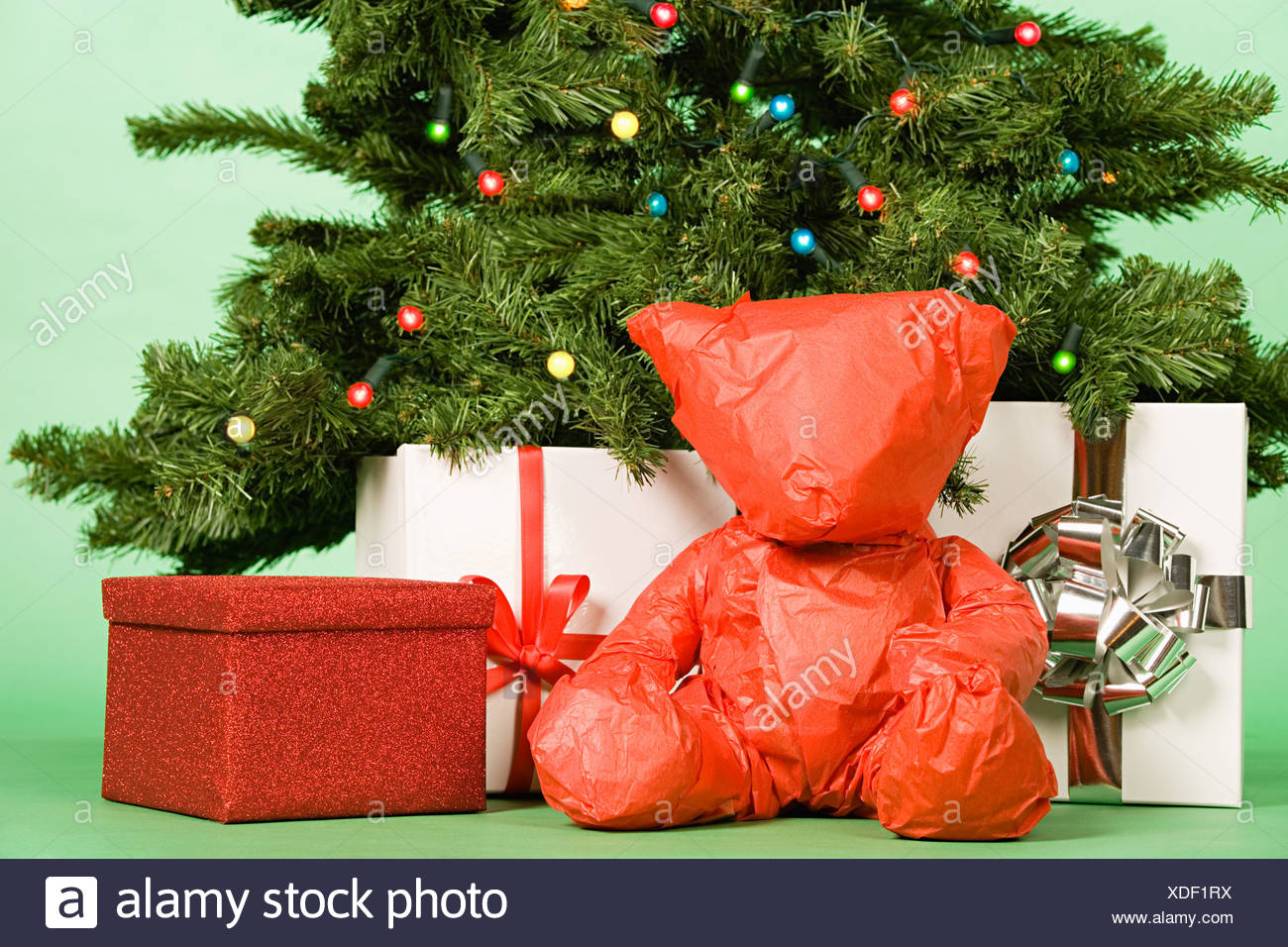 Gifts Under Christmas Tree Stock Photos & Gifts Under Christmas Tree ...
